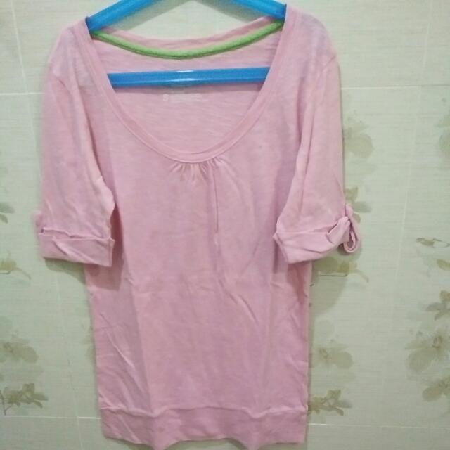 Atasan Colot Box Soft Pink