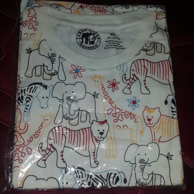 Baju Kebun Binatang Anak Xl