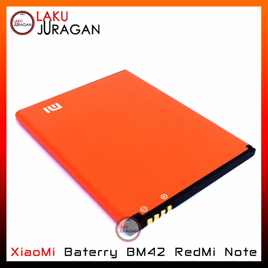 Baterai XiaoMi RedMi Note BM42 ORIGINAL OEM (Handphone, HP, Batrai, Battery,