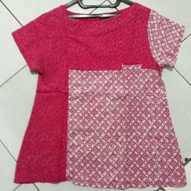 Batik Gaya Pink