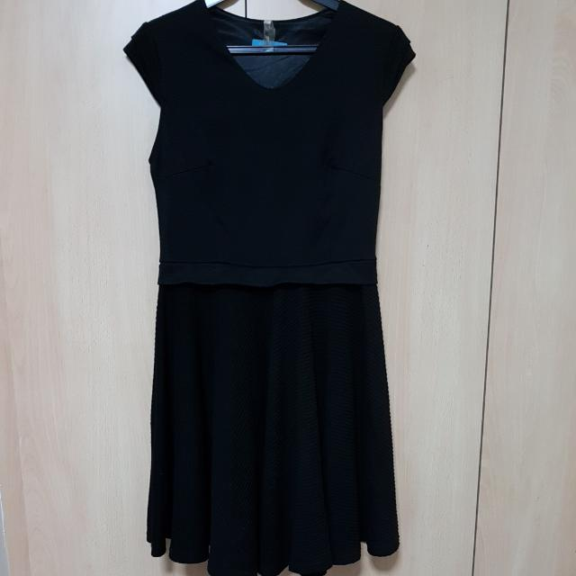 Black Baby Doll Dress