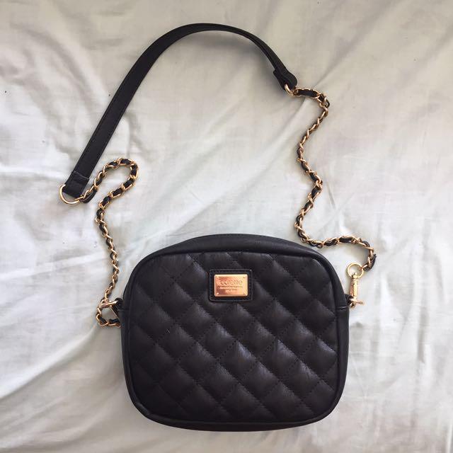 Black Colette Handbag