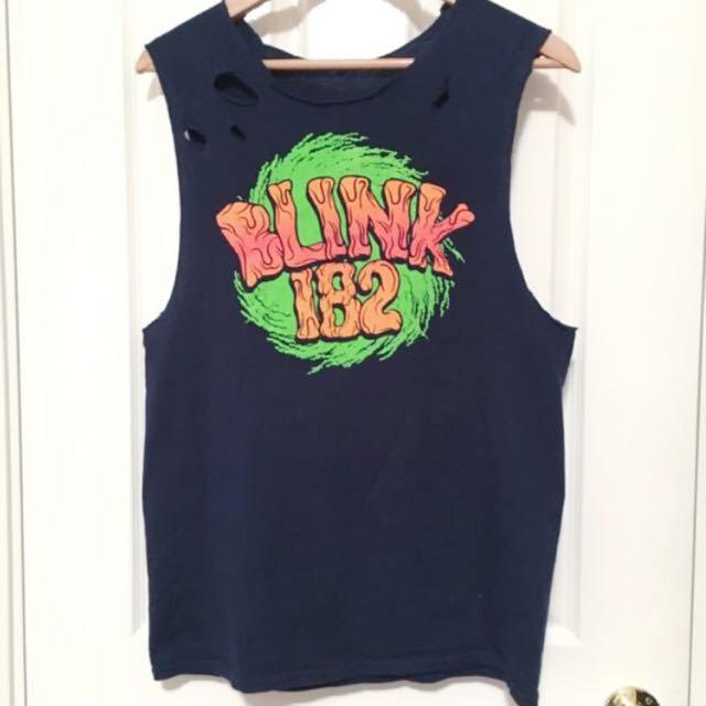 Blink-182 Muscle Tee: Australian Tour
