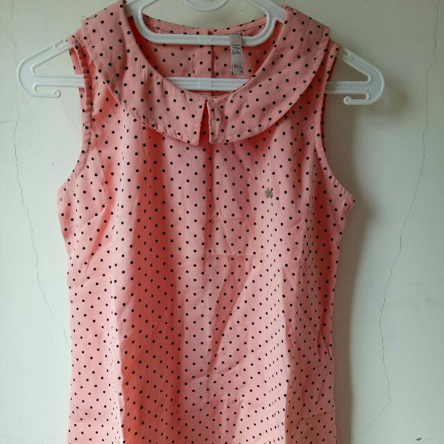 Blouse Kutung Pink Three Second