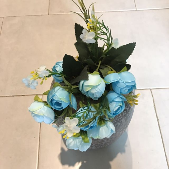 Blue Roses ( Artificial Flowers)