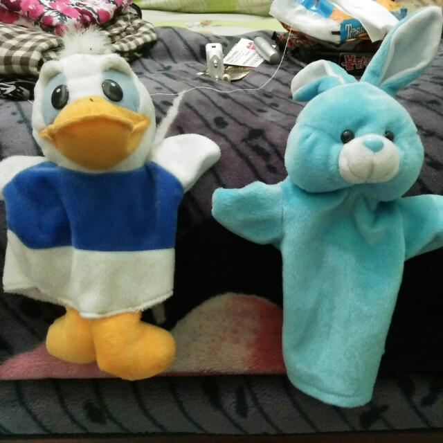 Boneka Donald And Rabbit