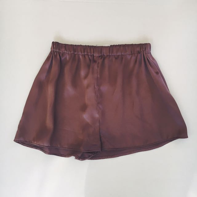 Boy Crush Shorts - Mauve Silk