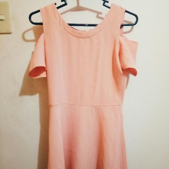 Casual Light Pink Dress