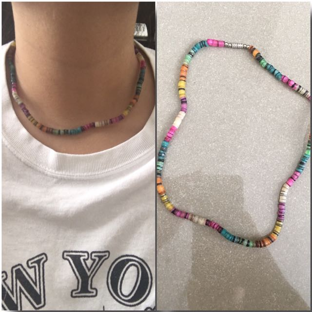 Colorful Capiz Shell Necklace