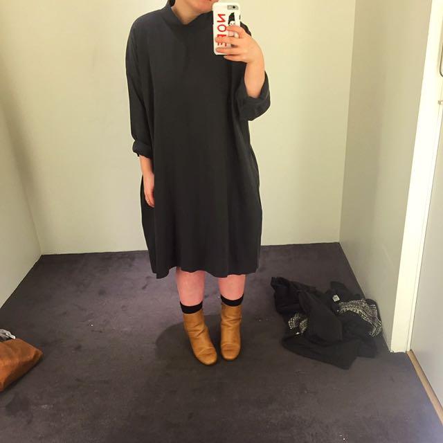 COS Turtleneck Dress