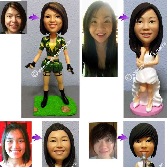 Customized & Personalized 3D Figurines For Loves Ones