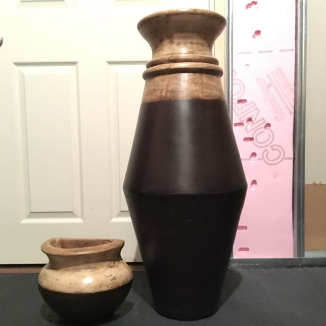 Decorative Vase and Small Wall Vase