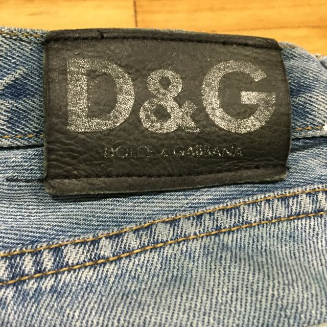D&G Denim Shorts Vintage