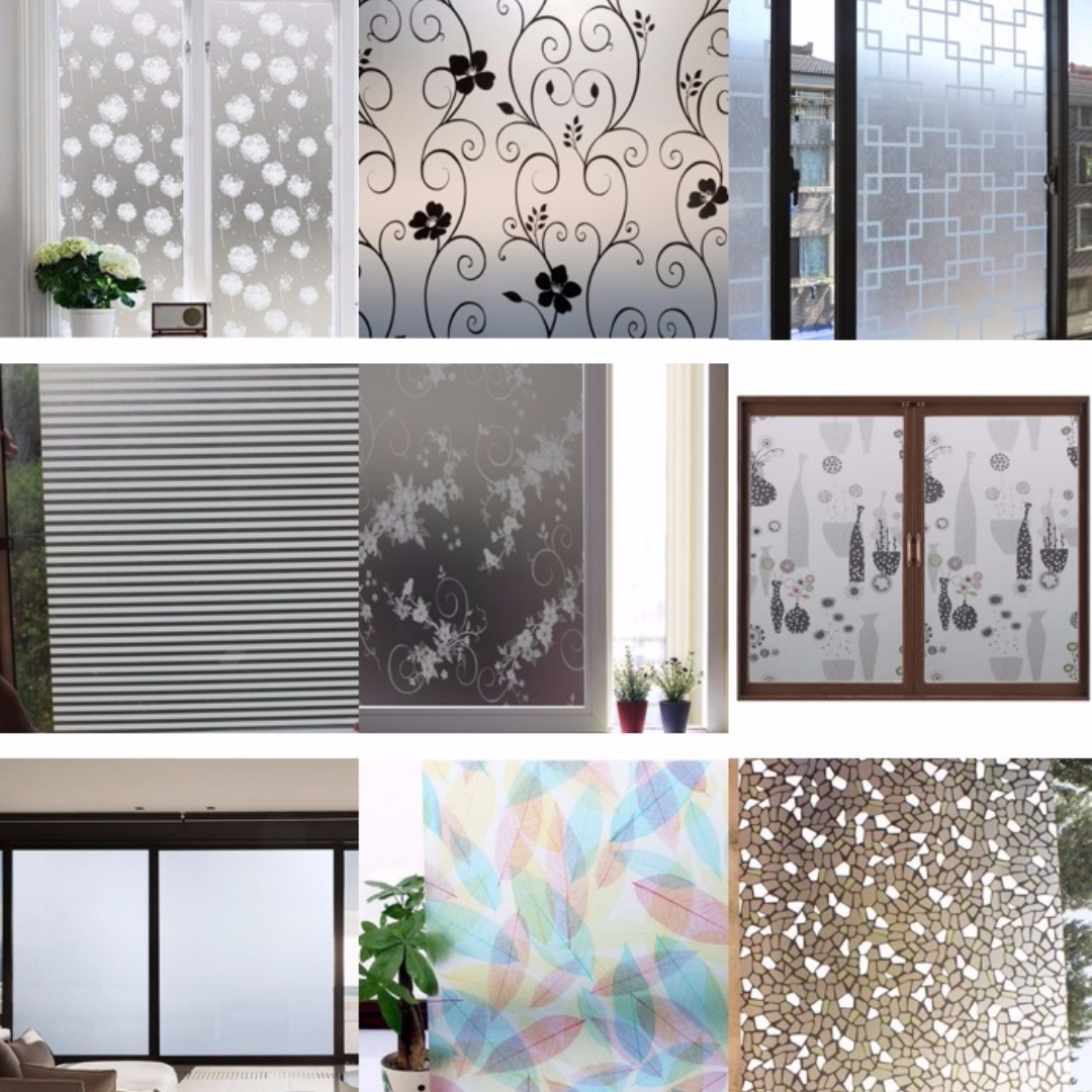Diy Window Films For Privacy Furniture Home Decor On Carousell