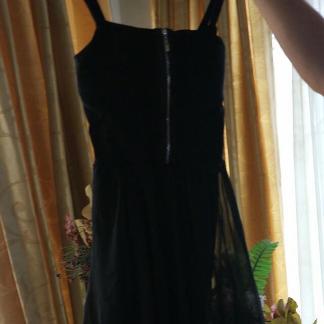 Dress Hitam murah