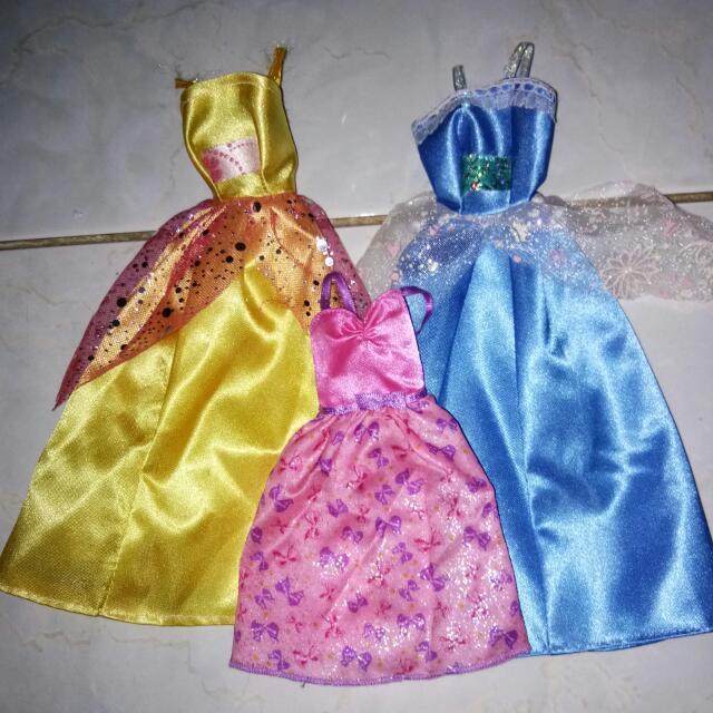 Dress Pesta Barbie