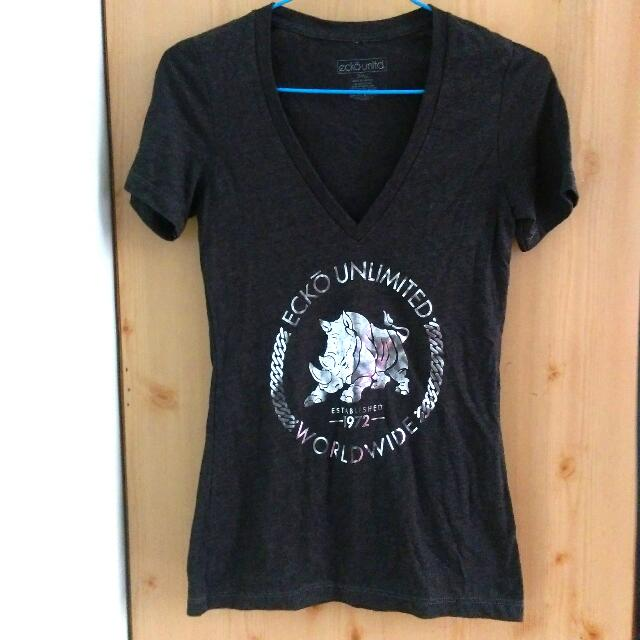 Ecko Unltd 鐵灰色T -shirt #大掃除五折