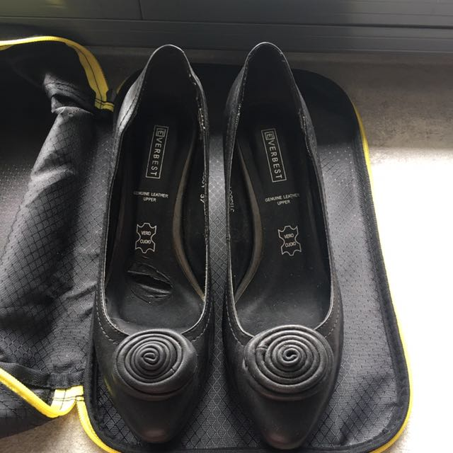 Everbest Ladies Leather Shoes Size 37