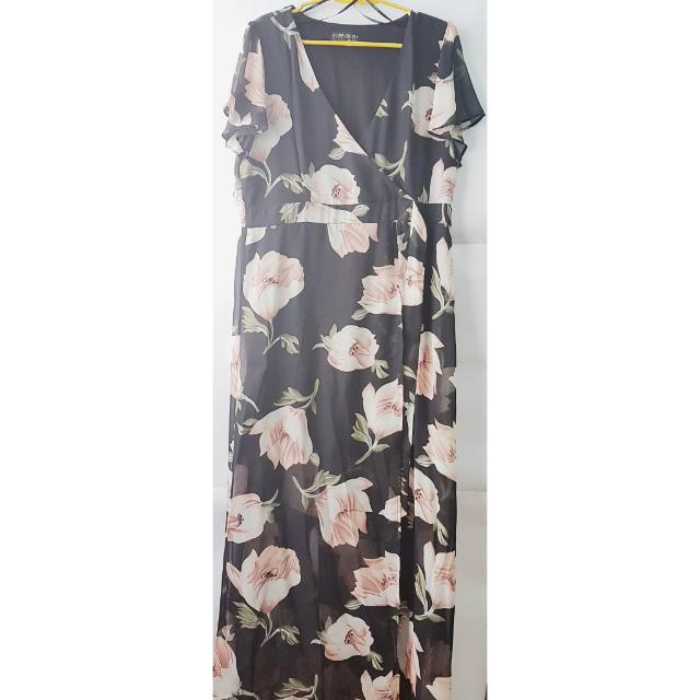 F21 Maxi Plus Size Dress