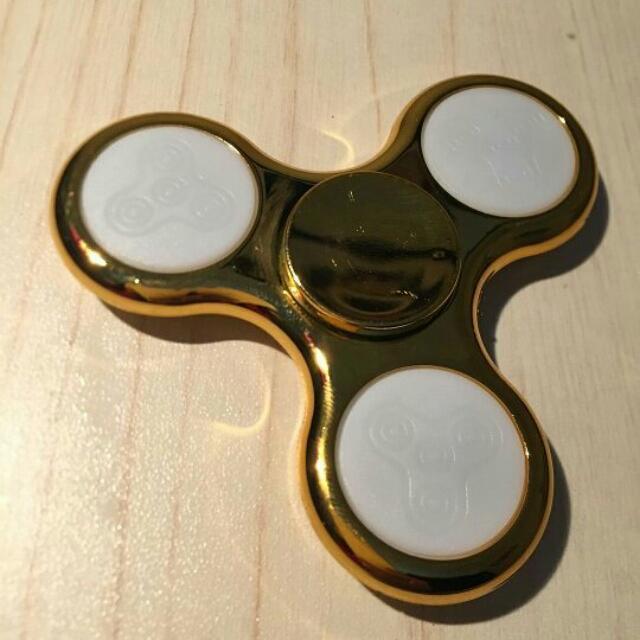 Fidget Spinner Chrome