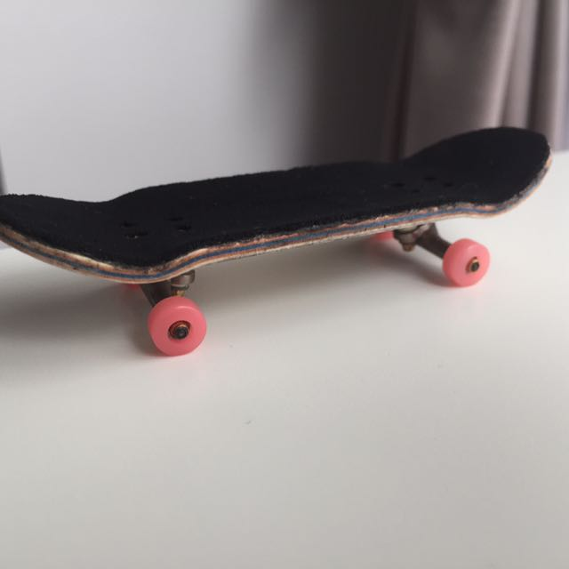 204a649c Fingerboard: Blackriver Deck And Trucks With Joycult Wheels, Everything  Else on Carousell