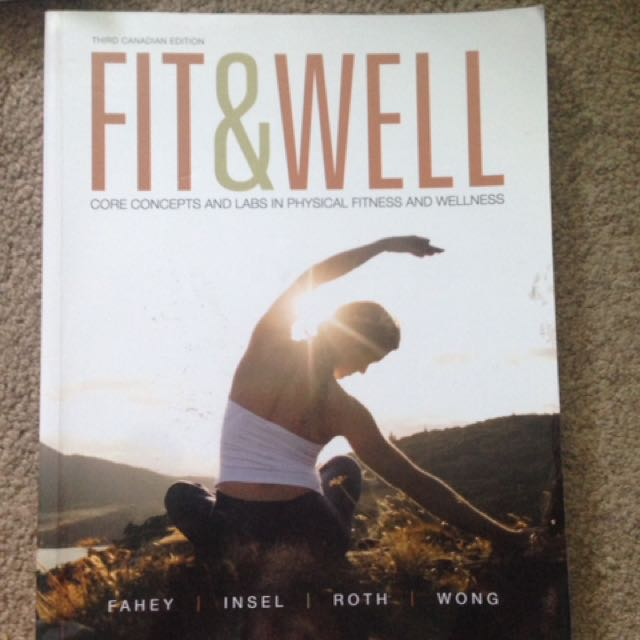 FIT AND WELL TEXTBOOK