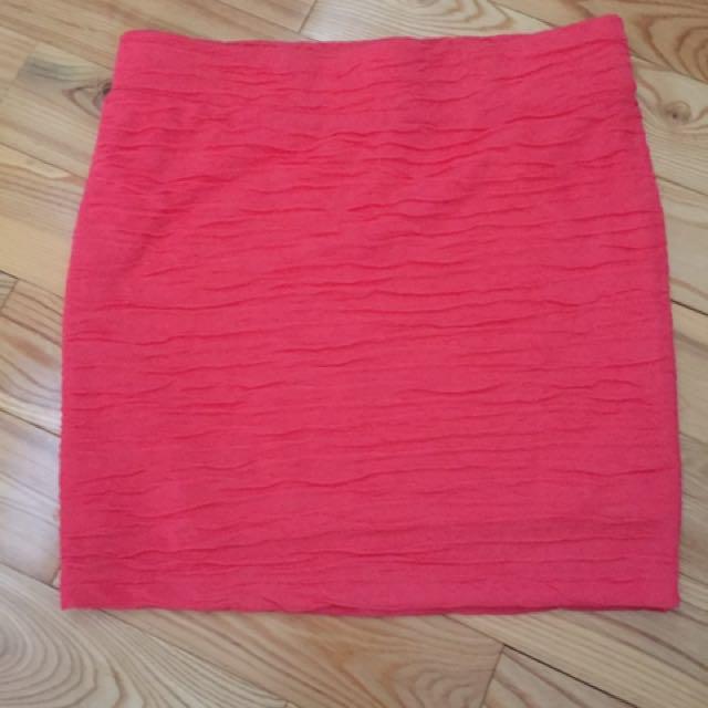 Forever 21 Coral skirt