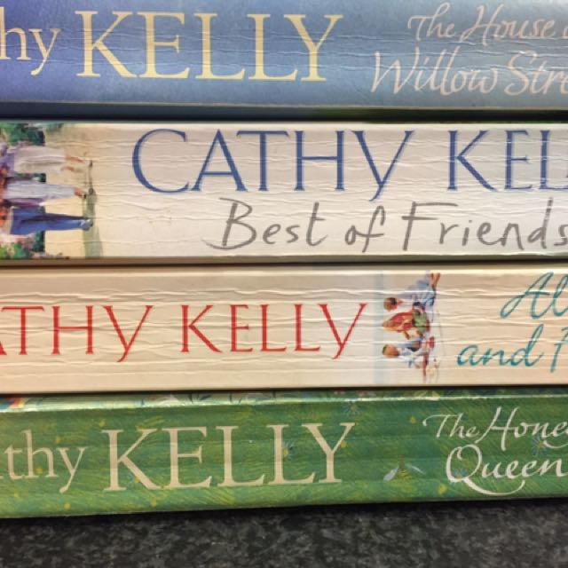 Four Cathy Kelly Books