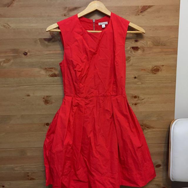 Gap青春紅 連身裙
