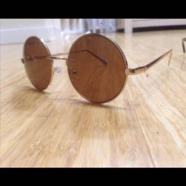 Ghanda Round Sunglasses