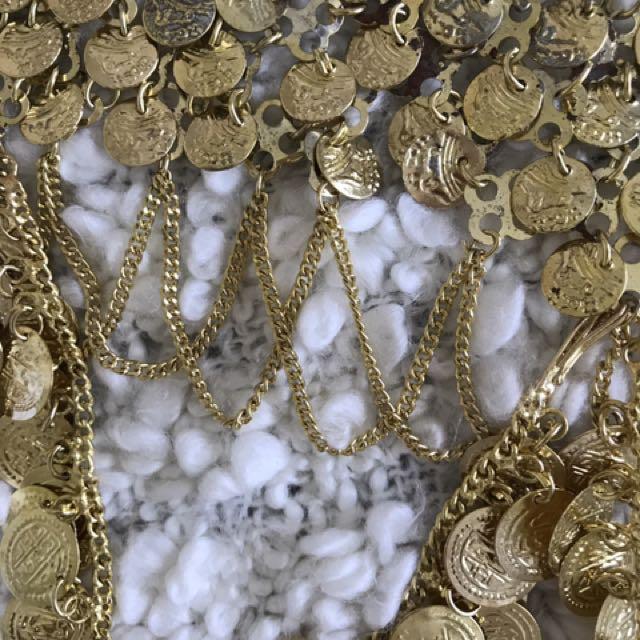 GOLD COIN BELT
