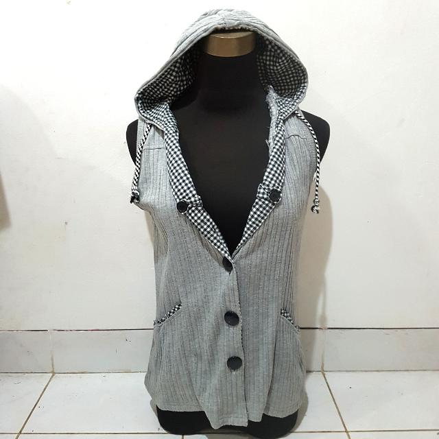 Grey Casual Outer