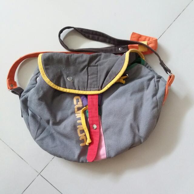 Grey Slingbag
