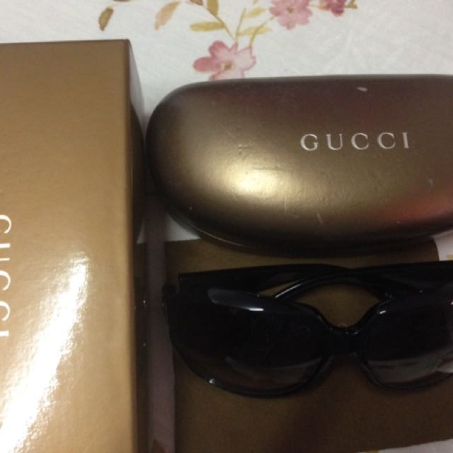 Gucci 漸層黑色墨鏡