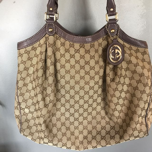 Gucci Duffle Bag Purse