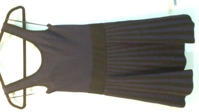 Guess Purple & Black Dress