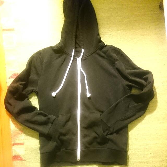 H & M Black Hoodie