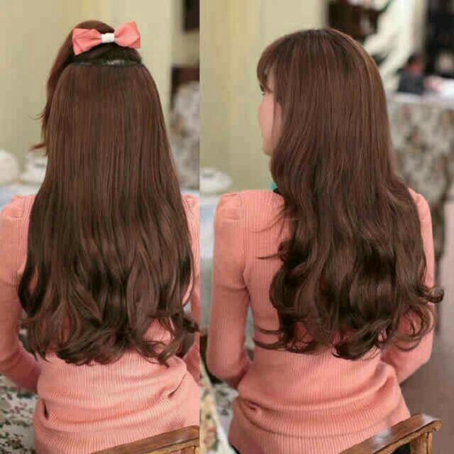 Hair Clip Rambut Sambung