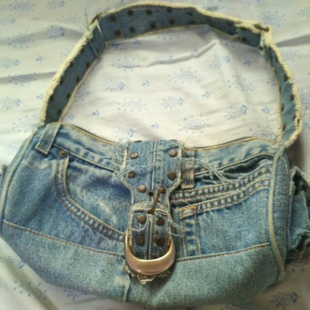 Handbag Denim High Quality
