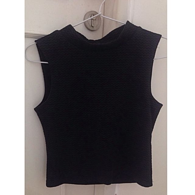 H&M Divided Round Neck Top