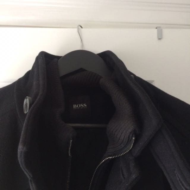 Hugo Boss Men's Wool Coat