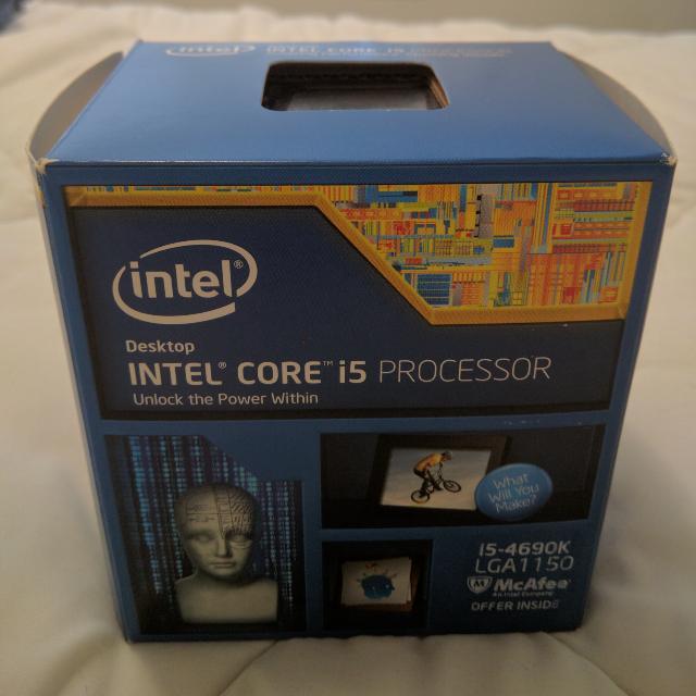 i5 4690k LGA1150 Quad Core Processor