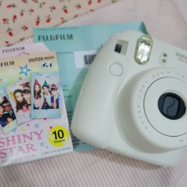 INSTAX MINI 8 white
