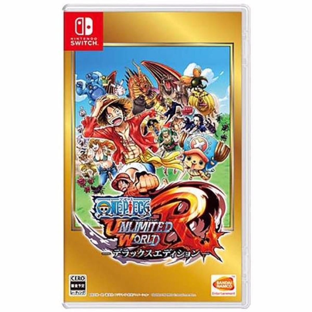Japan Exclusive ONE PIECE Unlimited World R Deluxe Edition