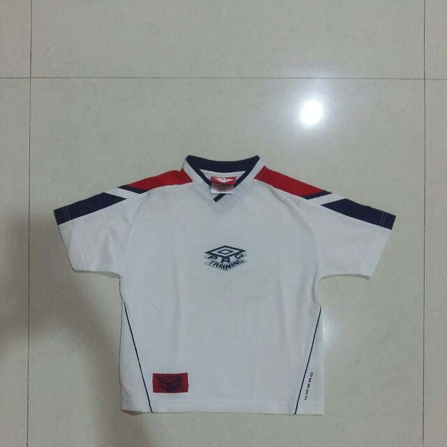 Kaos Olahraga Umbro Pro Training White Original