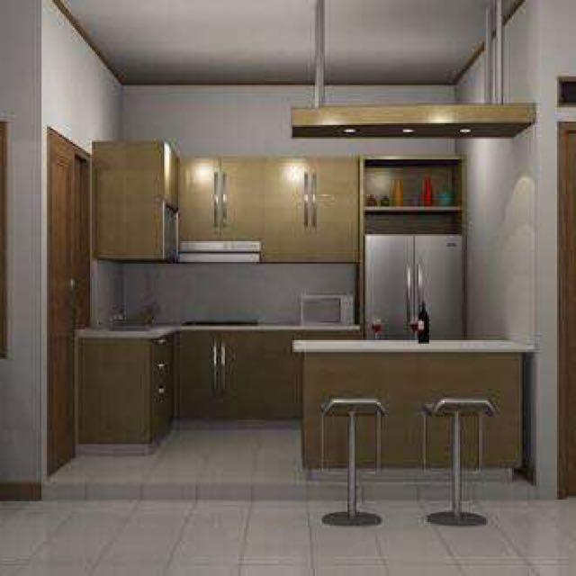 Kitchen Set Dan Mini Bar Minimalis Home Furniture On Carousell