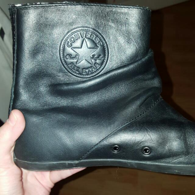 Leather Converse - Sz 8.5B