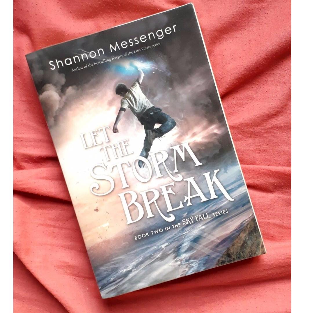 LET THE STORM BREAK (BOOK)