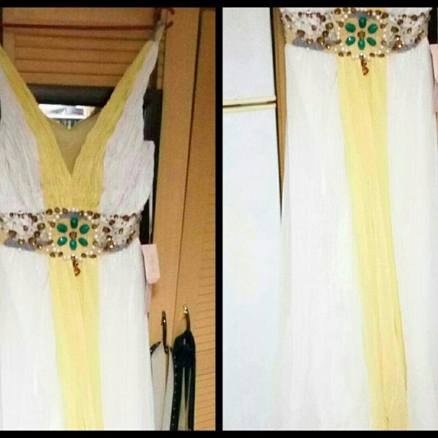 Long Gown Brand New Top Tato Brand In Dubai. .
