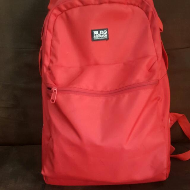 LRG HYPER RED BACK PACK